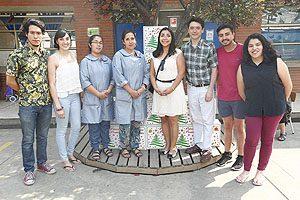 Equipo Directivo Escuela TM, representantes CETEM y de Colegio Santa Teresa de Jesús.