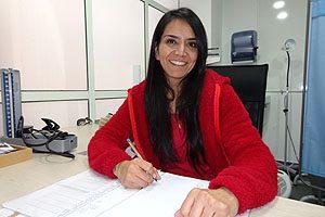 Mat. Amelia Alvarado, encargada del Centro de Consejería en Salud Sexual y Reproductiva.