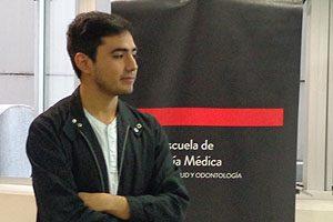 Benjamín Venegas, Pdte. del CETEM, y uno de los organizadores de la 2° Feria de Salud.