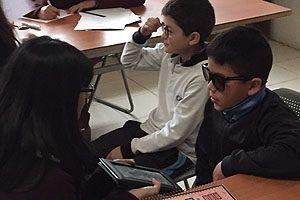 La intervención se realizó sobre un total estimado de 100 escolares del Colegio Polivalente, previamente seleccionados.