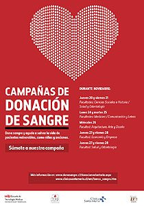 Campaña de  donación de sangre de 2014.