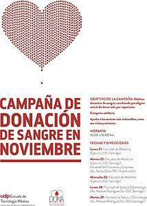 Campaña de donación de sangre de 2016.