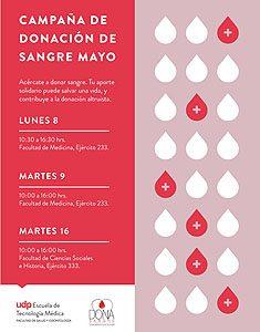 Campaña de donación de sangre de 2017.
