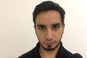 TM Ignacio Venegas, docente titular de la asignatura de Estrabismo I de la mención de Oftalmología y Optometría de la Escuela de Tecnología Médica UDP.