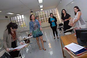 Escuela de Enfermería UDP participando en el Examen Nacional de Enfermería 2014.