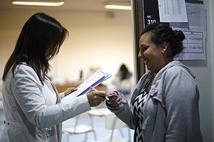 Escuela de Enfermería UDP participando en el Examen Nacional de Enfermería 2015.