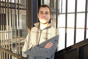 Para Cristóbal Sepúlveda, este es el último voluntariado en que participará como estudiante.