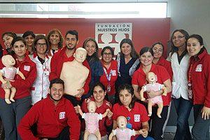 Tres capacitaciones realizó el Equipo Directivo de la Escuela de Enfermería UDP en la Fundación Nuestros Hijos.