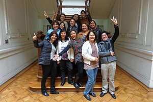 La Casona de Postgrado UDP fue sede, a principios de abril, de una de las más recientes reuniones ampliadas de RIIEE Chile.