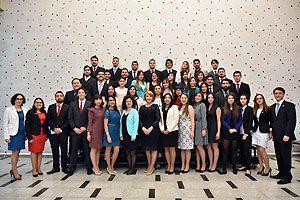 46 nuevos tecnólogos médicos recibieron sus diplomas, constituyéndose en la 11° generación con mención en Laboratorio Clínico, Hematología y Banco de Sangre, y en la 3° en Radiología y Física Médica.