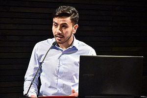 Fabián Olate, Presidente del Centro de Estudiantes de la Escuela de Tecnología Médica (CETEM).