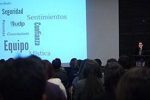 El año pasado, en el contexto del Día Internacional de la Enfermería, la EU Patricia Godoy fue invitada a la UDP a dictar una clase magistral.