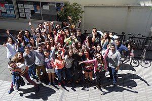 86 estudiantes de 5° año de la Escuela de Enfermería UDP se sometieron al ENENF esta mañana.