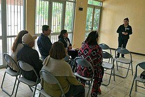 Una intervención comunitaria de difusión de servicios sociales y de salud realizaron, reciente, los estudiantes y la docente responsable en la comuna de Padre Hurtado, donde la Escuela de Enfermería UDP está presente hace más de 10 años.