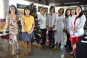 Equipo Directivo de la Escuela de Odontología UDP junto con docentes de las asignaturas Ninño I y Niño II.