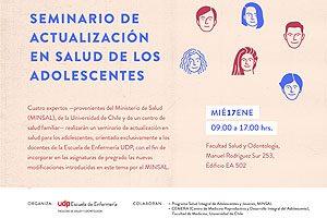 Cuatro especialistas participarán en este seminario que se dicta exclusivamente para los docentes de la Escuela de Enfermería UDP.