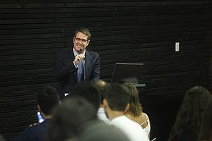 Klgo. Roberto Urzúa, Director de la Escuela de Kinesiología UDP.