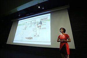 Dra. Carmen Julia Rosales de Diego, Secretaria de Estudios de la Escuela de Odontología UDP.