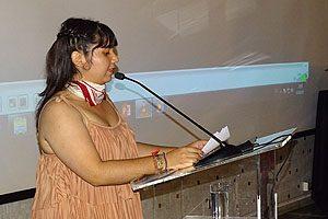 Tania Álvarez, la recién electa Presidenta del Centro de Estudiantes (CEON).