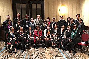 Representantes de diversas universidades de Santiago y regiones participaron en esta reunión académica.
