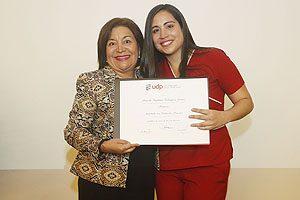 "Premio ""Espíritu Portaleano"" (primer año que se concede): Daniela Velásquez Lobos."