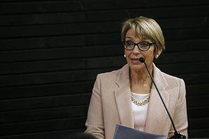 Prof. Yasna Carrión, Decana de la FACSyO.